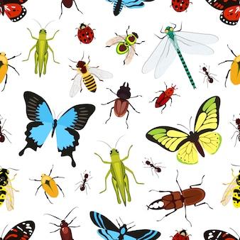 Wzór owadów