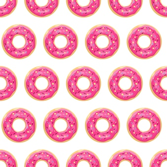 Wzór pączka. różowe przeszklone pączki.