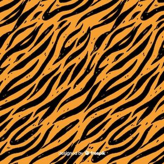 Wzór paski tygrysa