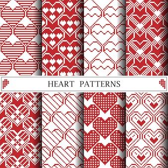 Wzór piksela serca
