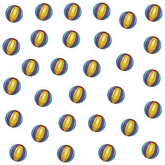 Wzór piłki dla dzieci
