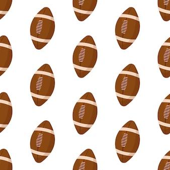 Wzór piłki do rugby