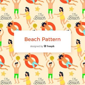 Wzór plaży