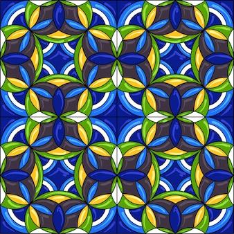 Wzór płytek ceramicznych. wspaniały wzór.