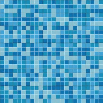 Wzór płytki basen, tło niebieskie mozaiki.