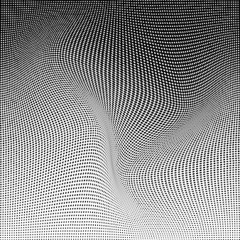 Wzór półtonów. tło rastra. tekstura półtonów.