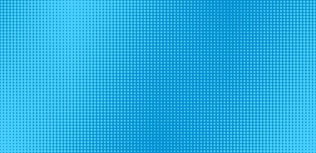 Wzór pop-artu. tło komiks półtonów. niebieski kreskówka retro tekstura.