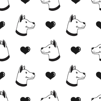Wzór psa