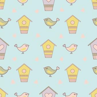 Wzór ptaka