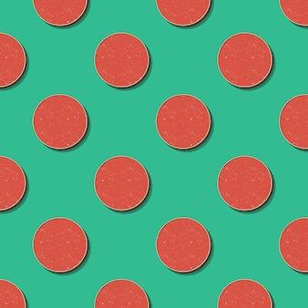 Wzór retro kropki. streszczenie tło geometryczne w stylu lat 80-tych, 90-tych. geometryczna prosta ilustracja