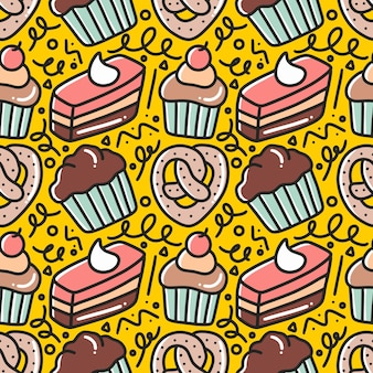 Wzór rysunku strony ciasta