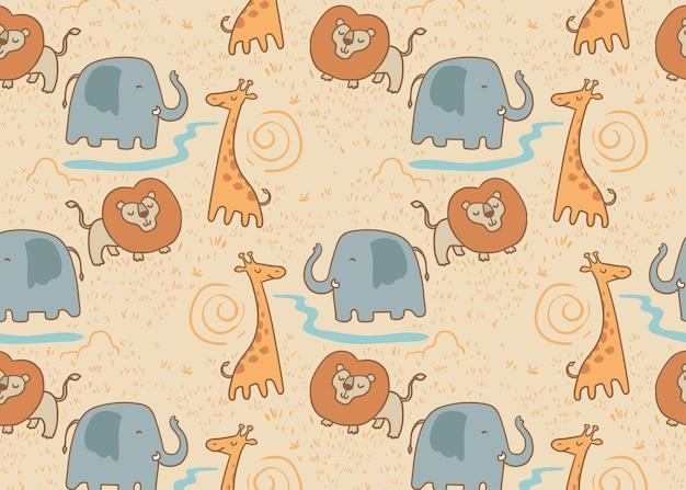 Wzór safari