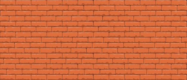 Wzór ściany z cegły bez szwu
