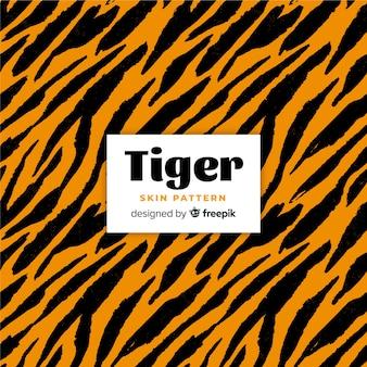 Wzór skóry tygrysa