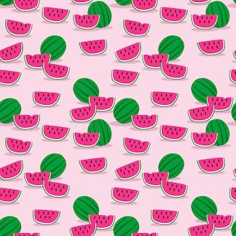 Wzór słodki arbuz