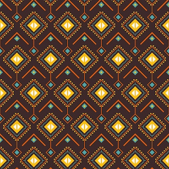 Wzór songket o tradycyjnych kształtach