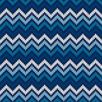 Wzór sweter z dzianiny streszczenie chevron