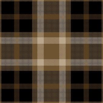Wzór szkockiej kraty w kratę.