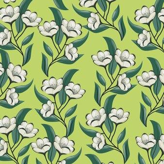 Wzór tła kwiaty