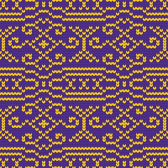 Wzór tekstury dzianiny