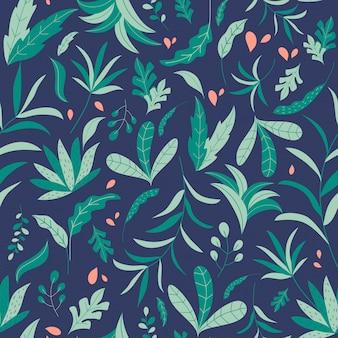 Wzór tropikalnej dżungli