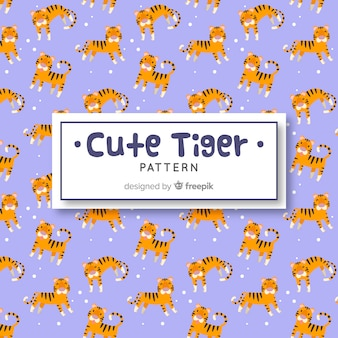 Wzór tygrysa i kropek