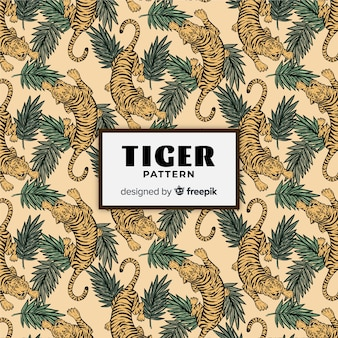 Wzór tygrysa