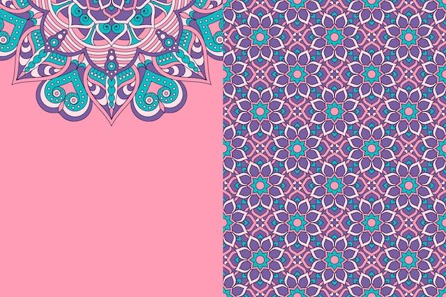 Wzór. vintage elementy dekoracyjne. ręcznie rysowane tła