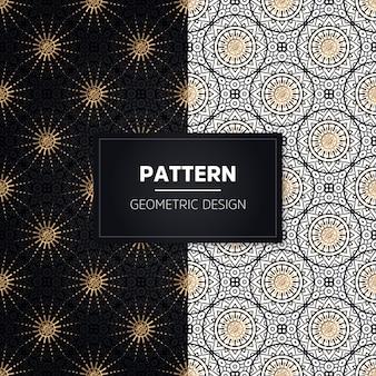 Wzór. vintage elementy dekoracyjne. ręcznie rysowane złote ozdoby.