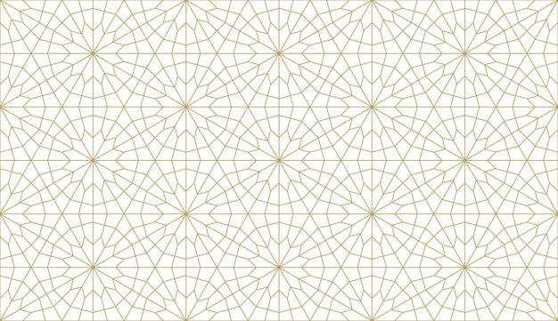Wzór w autentycznym stylu arabskim.