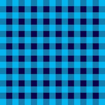 Wzór w kratę w niebieską kratę