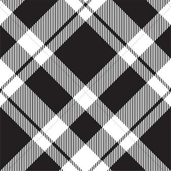 Wzór w kratę w szkocką kratę. tkanina w stylu retro. geometryczna kratka vintage.