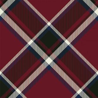 Wzór w kratę w szkocką kratę. tkanina w tle retro. kwadratowa geometryczna tekstura w kolorze vintage.