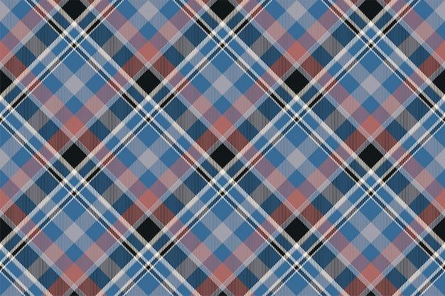 Wzór w kratę w szkocką kratę. tkanina w tle retro. vintage kwadratowa geometryczna tekstura koloru kratki