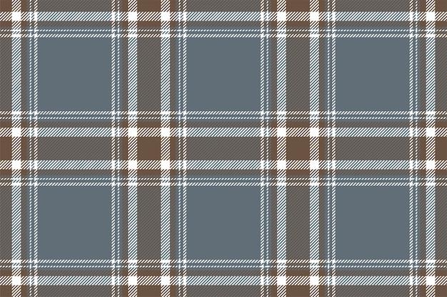 Wzór w kratkę bez szwu z kwadratowym paskiem