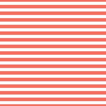 Wzór w paski w kolorze living coral. streszczenie tło geometryczne. kolor roku 2019. luksusowa i elegancka ilustracja w stylu