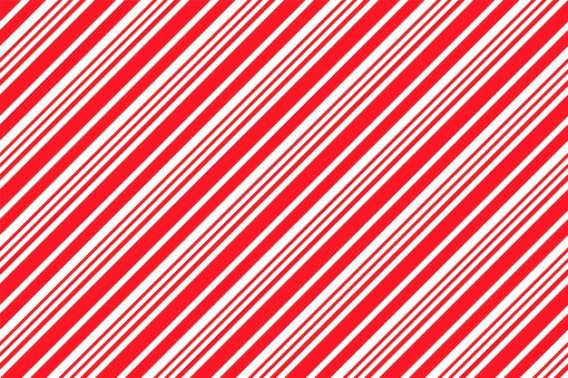 Wzór w paski z trzciny cukrowej. boże narodzenie bezszwowe tło. ilustracja wektorowa.