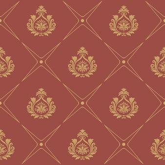 Wzór w stylu barokowym. dekoracja tapety elegance