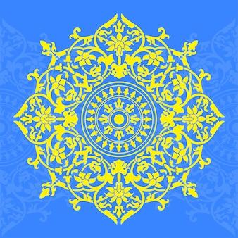 Wzór w stylu indyjskim