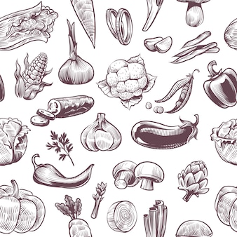 Wzór warzyw