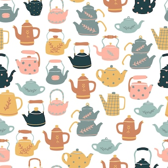 Wzór z czajnikami