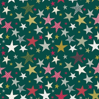 Wzór z dekoracyjnymi gwiazdami