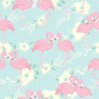 Wzór z flamingów