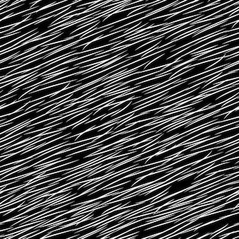 Wzór z imitacji futra