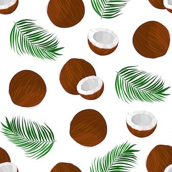 Wzór z kokosem