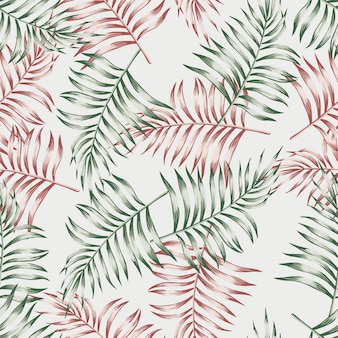 Wzór z liści palmowych