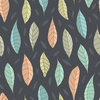Wzór z liściem