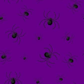 Wzór z pajęczej sieci na halloween.