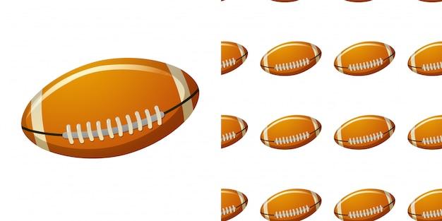 Wzór z piłką rugby