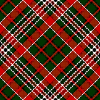Wzór zielony czerwony przekątnej wyboru kwadratowy piksel